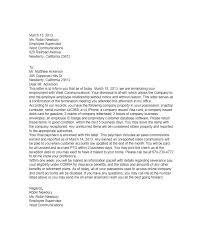 general letter format 35 perfect termination letter samples lease employee contract