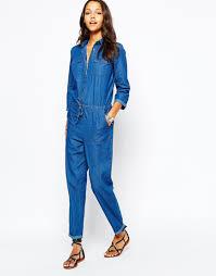denim jumpsuits for asos boohoo denim jumpsuit wear it boohoo boiler