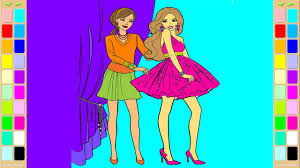 barbie coloring book dress coloring pages kids fun art