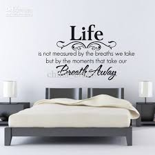 living room wall stickers quotes modern style home design ideas