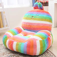 cute bean bag chairs amazon com kids mini lounger sofa bean bag chair novelty gift