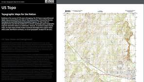 Topographical Map Of United States by Story Map Topographic Maps For The Nation