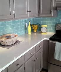 blue tile kitchen backsplash shocking interior blue mini glass subway tile kitchen