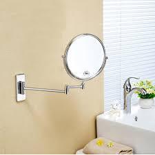 copper bathroom mirrors copper bathroom wall sided beauty mirror bathroom mirror telescopic