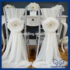 Sashes For Sale Sh008a Wholesale Cheap Fancy Wedding Polyester Ruffle Ivory