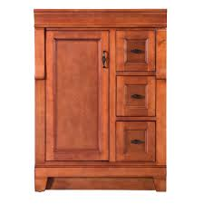 Synonym Vanity Foremost Naples 24 In W Bath Vanity Cabinet Only In Warm Cinnamon