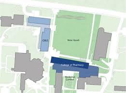 Uri Campus Map College Of Pharmacy U2013 Payette