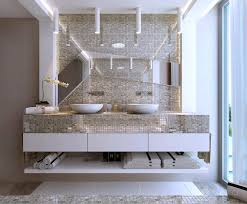 Mirror Bathroom Tiles Cool Mirror Mosaic Bathroom Tiles Also Designing Home Inspiration