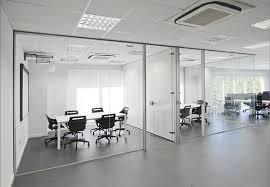 cloison verre bureau cloison amovible de bureau travaux wlc concept