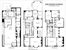 Tudor Revival Floor Plans 3383 Pacific Avenue San Francisco Presented By Lisa Wolfe
