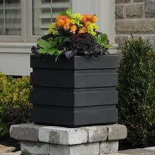 Black Planter Boxes by 5860 Deck U0026 Patio Flower Planter Box By Mayne