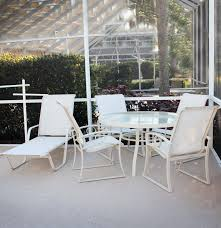 Sling Back Patio Dining Sets - patios suncoast patio furniture for best outdoor furniture design