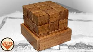 Free Wood Puzzle Box Plans by Free Plans Making A Simple Wood Block Puzzle Youtube