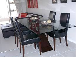 Glass And Wood Dining Tables Glass Dining Table With Wood Base Luxuryroomco Dining Table Bases