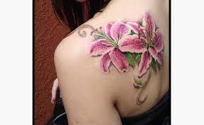 12 lily flower tattoos design ideas