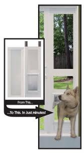 Vinyl Patio Pet Door Vinyl Modular Pet Patio Door Great For Balconies Ideal Pet