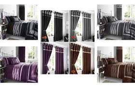 Matching Bedding And Curtains Sets New Pintuck Duvet Cover Sets Cushions Matching Lined Eyelet