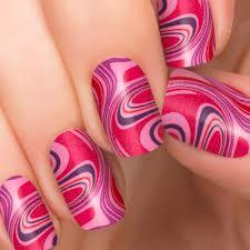 berry swirl nail polish appliqués nail designs incoco