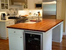 sink in kitchen island mesquite photos custom wood countertops butcher block
