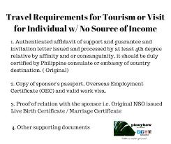 Affidavit Of Support Sle Letter For Tourist Visa Japan how to get a dubai visit visa avoid offloading in naia immigration