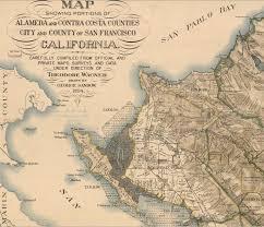 san francisco map east bay san francisco bay musings on maps