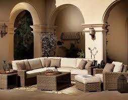Patio Club Chair 4 Pc Coronado Wicker Sectional Set Patio Productions