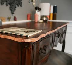 Copper Projects Apply Copper Leaf Accenting To Furniture Renovations Diy