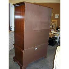 Cherry Armoire Wardrobe Thomasville Collectors Cherry Armoire Chairish