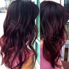 black hair to raspberry hair smokey raspberry balayage ombre by hairby s preen me