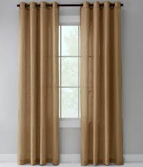 sheer linen grommet top curtains country curtains