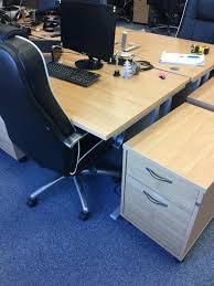 Gumtree Office Desk Office Furniture To Clear Desk Chairs And Pedestal In Chineham