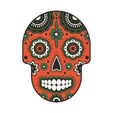 flower sugar skull skull t shirt teepublic