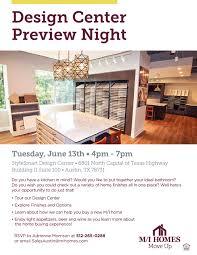 m i homes design center preview night u2014builder boost