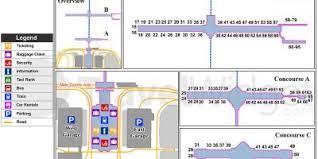 denver terminal b map denver map maps denver colorado usa