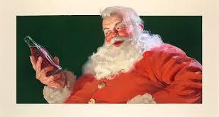 another great haddon sundblom santa claus illustration u2013 lines and