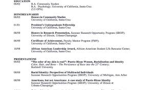 Academic Resume Template Resume How To Write A Resume And Tailor It To Job Description
