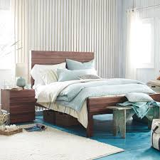 Double Bed Frame Prices Stria Bed Honey West Elm
