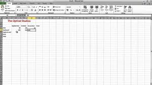 How To Create An Inventory Spreadsheet How To A Simple Spreadsheet On Excel 2010 Business Stock