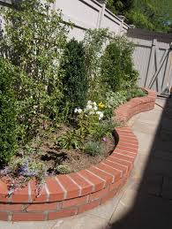 Garden Wall by Extraordinary Brick Garden Wall Designs 37 With Additional Modern