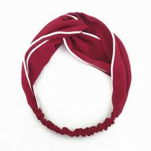 burgundy headband buy burgundy headbands and get free shipping on aliexpress