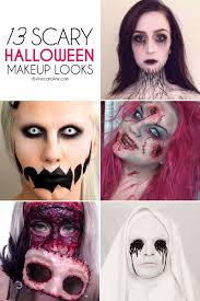 Halloween Mummy Makeup Ideas 13 Scary Halloween Makeup Looks That Give Us Nightmares Scary