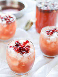 Non Alcoholic Thanksgiving Drinks Cranberry Cider Punch
