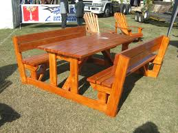 plans for picnic tables round friendly woodworking projects