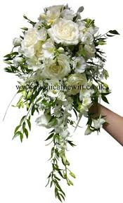 wedding flowers sheffield bridal bouquet wired orchid calla roses f hewitt