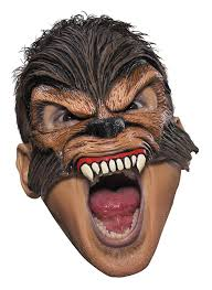 Werewolf Mask Brown Wolfman Mask Candy Apple Costumes Gothic U0026 Scary
