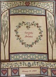 personalized wedding blanket personalized wedding blanket quilt personalzed with names