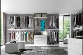 decorations contemporary glass walk in closet idea for men with