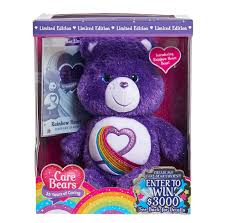 35 year anniversary gift just play care bears rainbow heart 35th anniversary gift edition