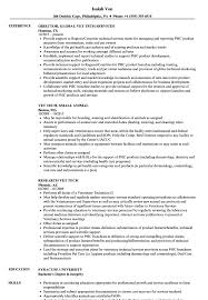 veterinary technician resume exles vet tech resume sles velvet