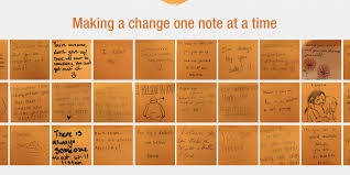 orange project raises awareness of mental health issues and